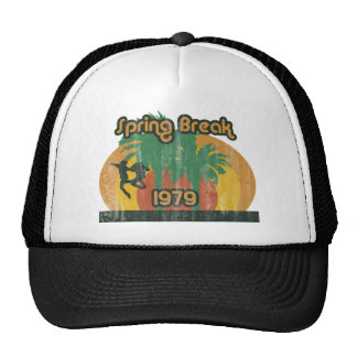 Vintage Spring Break 1979, 70s T-Shirt Cap