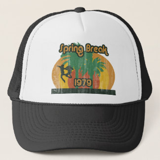Vintage Spring Break 1979, 70s T-Shirt Trucker Hat