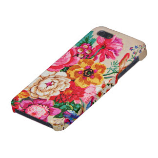 Vintage Spring Flowers iPhone 5 Case
