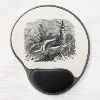 Vintage Springbok Antelope Gazelle Personalized Gel Mouse Mat
