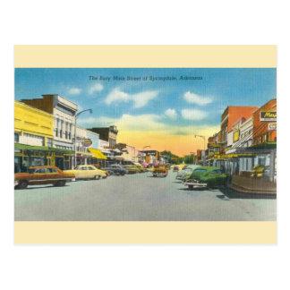 Vintage Springdale Arkansas Postcard