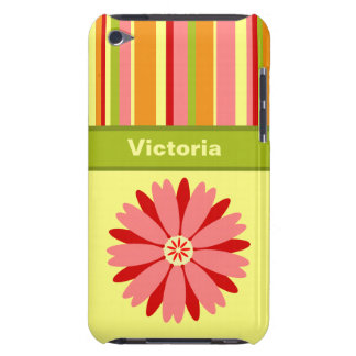 Vintage Springtime Custom Barely There iPod Cases