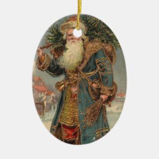 Vintage St. Nicholas Christmas Ornament