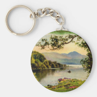 Vintage St. Paddy's By the Lake Basic Round Button Key Ring