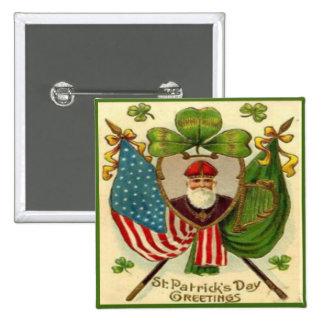 Vintage St Patricks Day 10 Pins