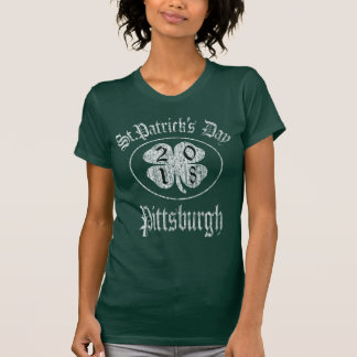 Vintage St.Patrick's Day 2018 Pittsburgh T-Shirt