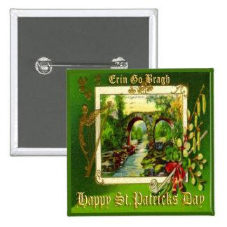 Vintage St Patricks Day 29 Button