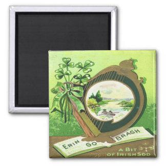 Vintage St Patricks Day 3 Magnet