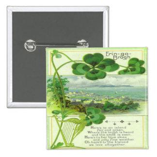 Vintage St Patricks Day 7 Pin