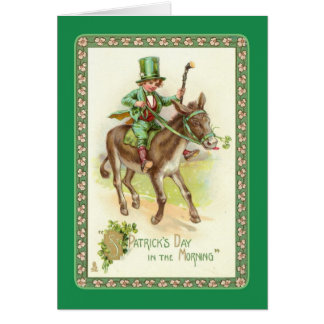 Vintage St Patrick's Day Card