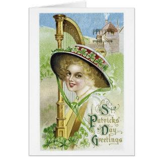 Vintage St Patrick's Day Card