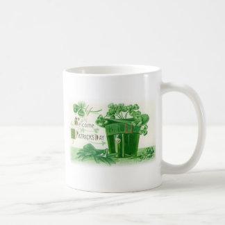 Vintage St. Patricks Day Greeting Coffee Mug