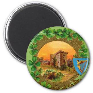 Vintage St Patrick's Day Magnet