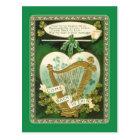 Vintage St Patrick's Day postcard
