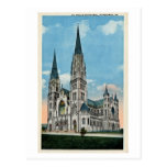 Vintage St. Paul's Cathedral, Pittsburgh, PA Postcard