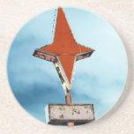 vintage star coaster