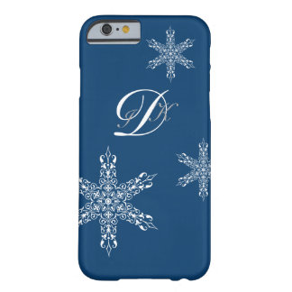 VINTAGE STAR | monogram with stylish pattern Barely There iPhone 6 Case