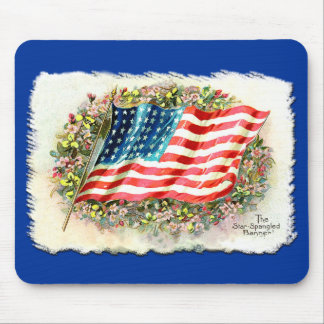 Vintage Star Spangled Banner Products Mouse Pad
