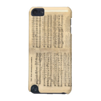 Vintage Star Spangled Banner Song Sheet Lyrics iPod Touch (5th Generation) Covers