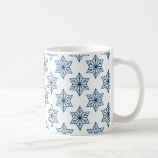 Vintage Starburst Mug, Blue