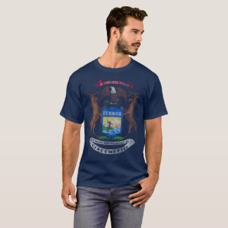 Vintage State Flag of Michigan T-Shirt