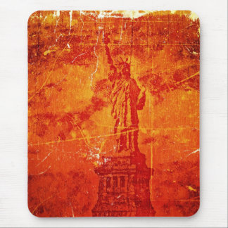 Vintage Statue Of Liberty, New York #1 - Mousepad