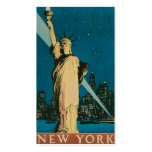 "Vintage ""Statue of Liberty"" New York City Pack Of Standard Business Cards"