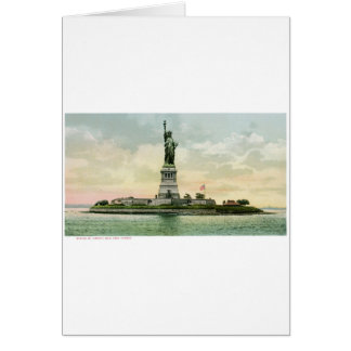 "Vintage ""Statue of Liberty"" Poster. New York. Card"