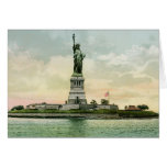 """Vintage """"Statue of Liberty"""" Poster. New York. Cards"""
