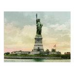 "Vintage ""Statue of Liberty"" Poster. New York. Postcard"