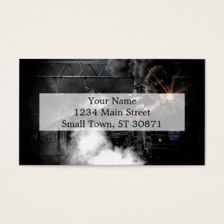 Vintage Steam Engine Black Locomotive Train