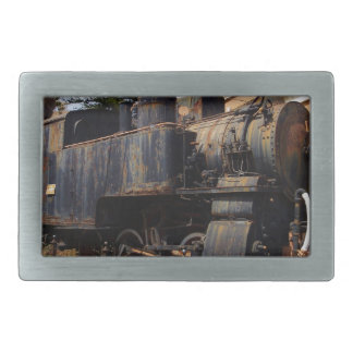 Vintage Steam Locomotive Belt Buckle