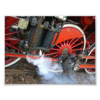 Vintage Steam Train 2 Art Photo