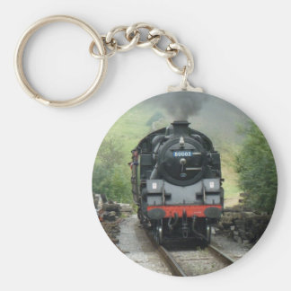 Vintage Steam Train Keychain