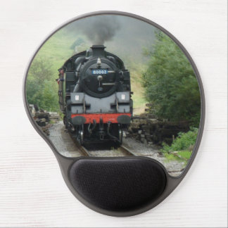 Vintage Steam Train Mousepad Gel Mouse Mat