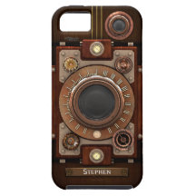Vintage Steampunk Camera #1C iPhone 5 Covers