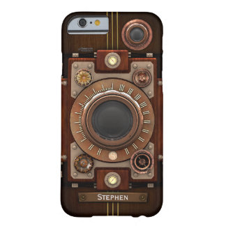 Vintage Steampunk Camera #1C iPhone 6/6S Case