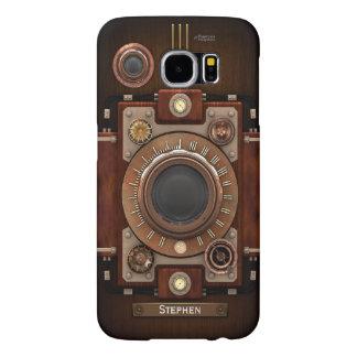 Vintage Steampunk Camera #1C Samsung Galaxy S6 Cases