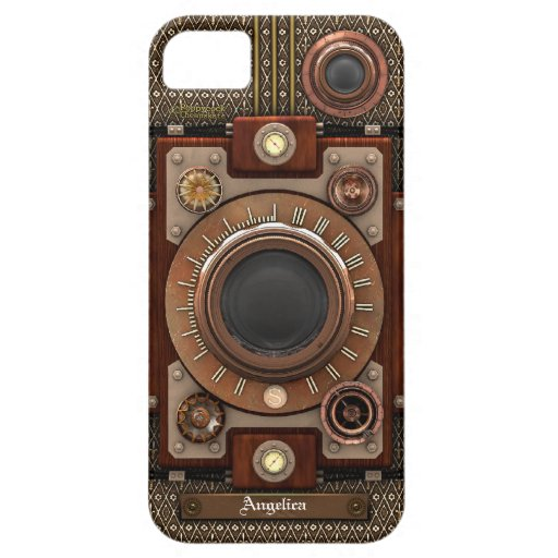 Vintage Steampunk Camera #1E (De Luxe!) iPhone 5 Cover