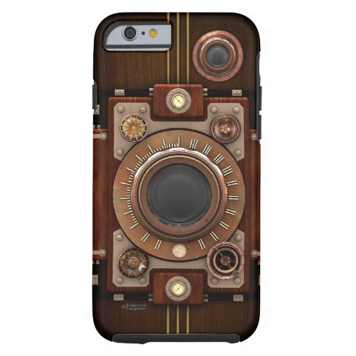 Vintage Steampunk Camera No.1B iPhone 6 Case