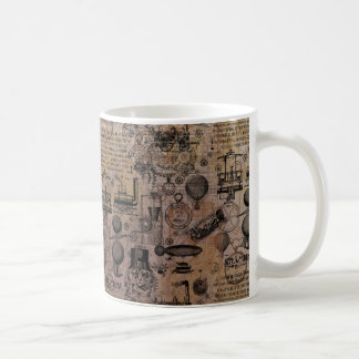 Vintage Steampunk Coffee Mug