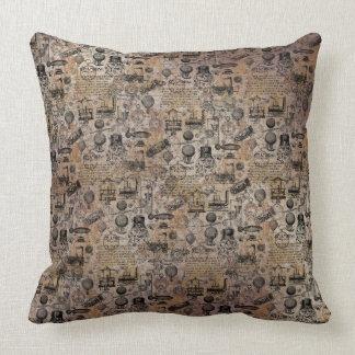 Vintage Steampunk Cushion