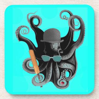 vintage steampunk octopus cricketer coaster