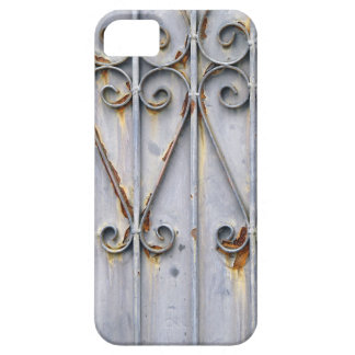 Vintage steampunk pattern metal rustic chic goth case for the iPhone 5