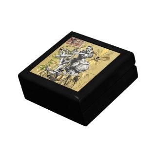 Vintage steampunk pirate gift box