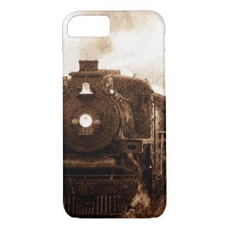 Vintage Steampunk Railroad Antique Steam Train iPhone 8/7 Case
