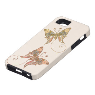 Vintage Steampunk Style Mechanical Butterfly iPhone 5 Case