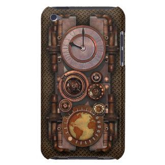 Vintage Steampunk timepiece v2 iPod Touch Cases