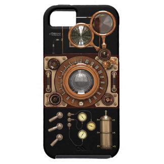 Vintage Steampunk TLR Camera (Dark) iPhone 5 Cases