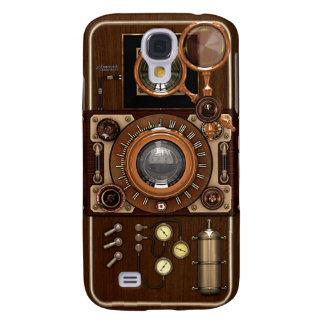 Vintage Steampunk TLR Camera Galaxy S4 Case